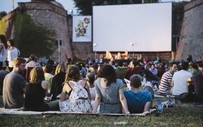 Cinema a la fresca en Barcelona